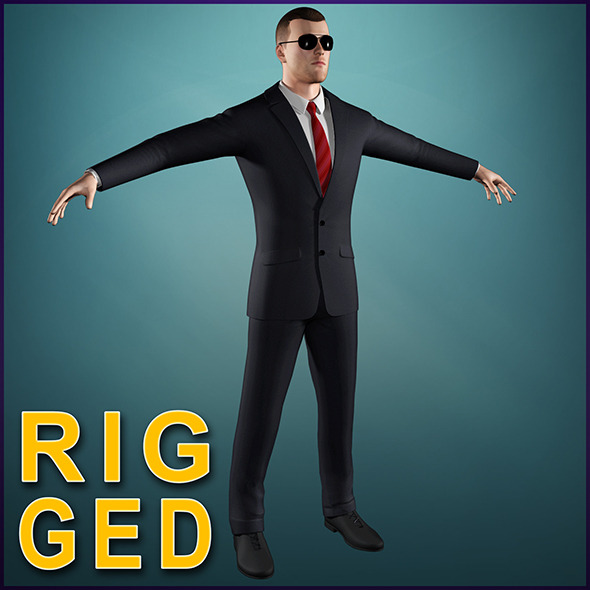 Bodyguard Spy - 3DOcean Item for Sale