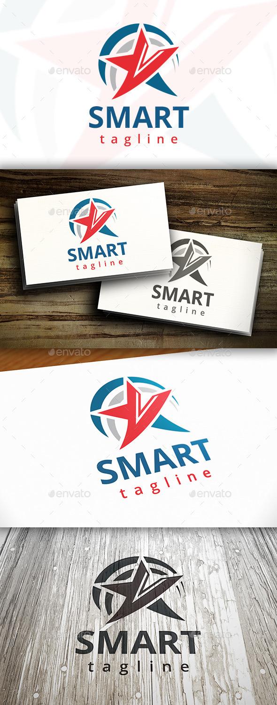 Smart Star Logo - Symbols Logo Templates