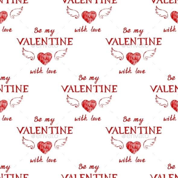 Valentine's Pattern - Valentines Seasons/Holidays