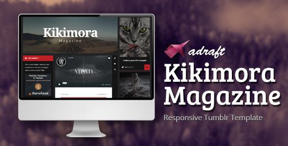 Kikimora Magazine – Responsive Tumblr Theme