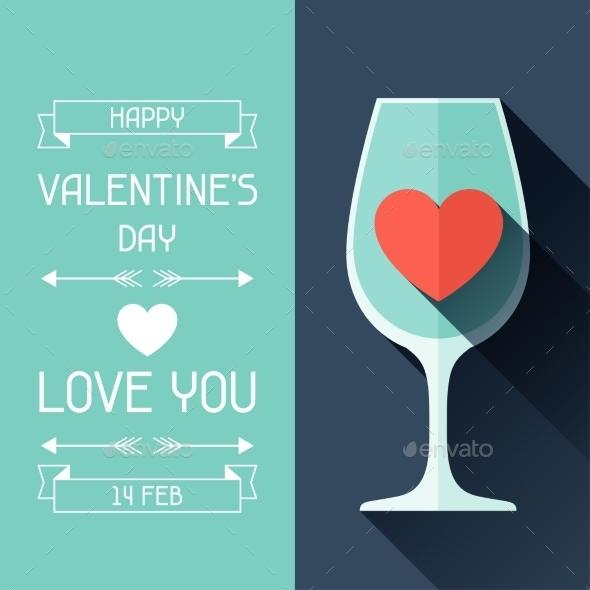Happy Valentine's Illustration  - Valentines Seasons/Holidays