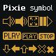 Pixie symbol - GraphicRiver Item for Sale