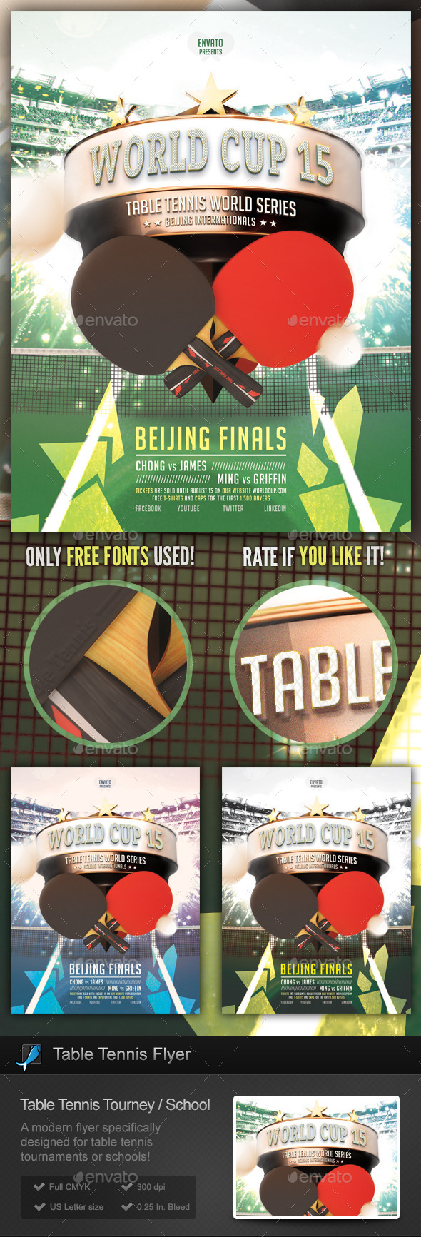 Table tennis tournament school flyer by stormdesigns graphicriver table tennis tournament school flyer sports events fandeluxe Gallery