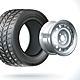 Winter Car Tire - GraphicRiver Item for Sale