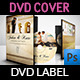 Wedding DVD Cover and DVD Label Template Vol.4 - GraphicRiver Item for Sale