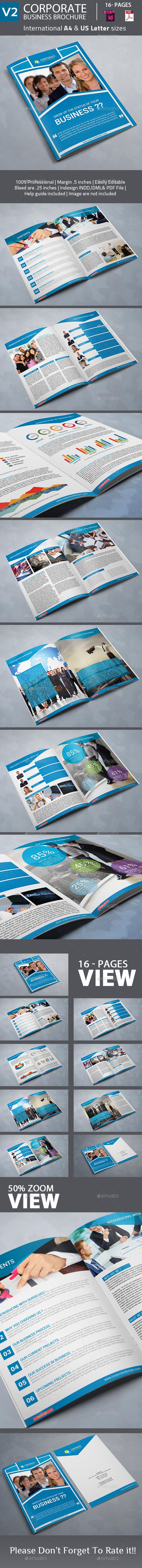 Corporate Business Brochure - Corporate Brochures