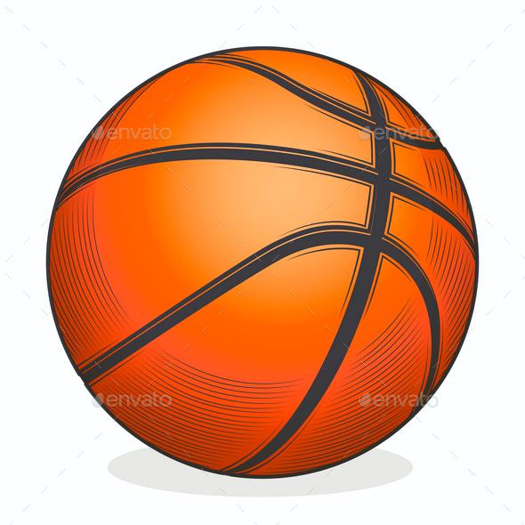 Basketball - Sports/Activity Conceptual