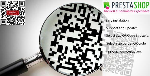 QR-Code for Prestashop - CodeCanyon Item for Sale