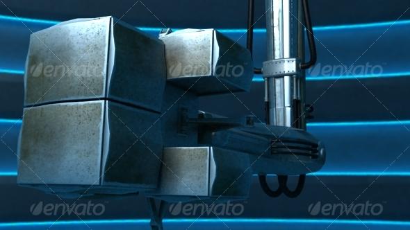 Robo Board 3DsMax scene - 3DOcean Item for Sale
