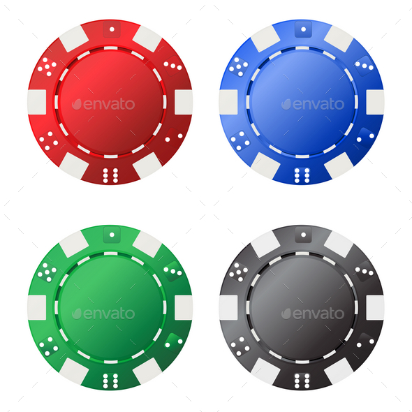Gambling Chips - Business Conceptual