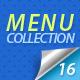 16 Menus - GraphicRiver Item for Sale