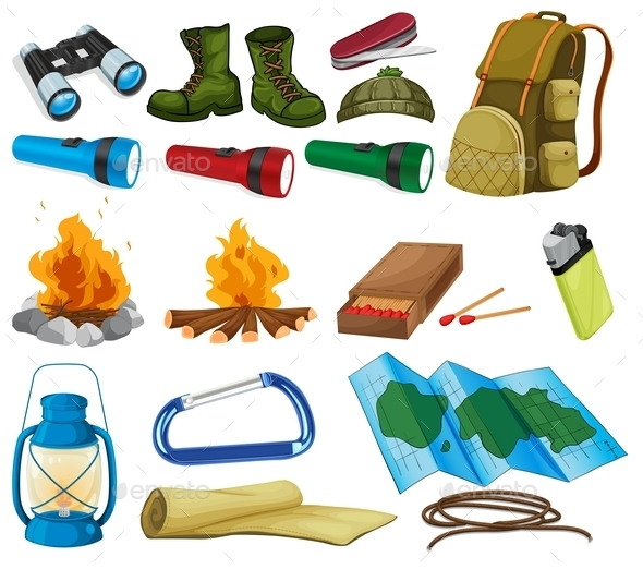 Camping Set - Miscellaneous Characters