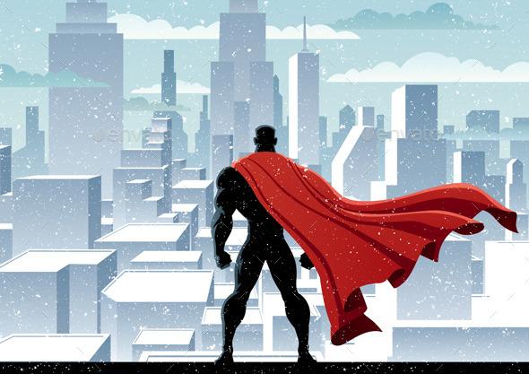 Superhero Watch - People Characters