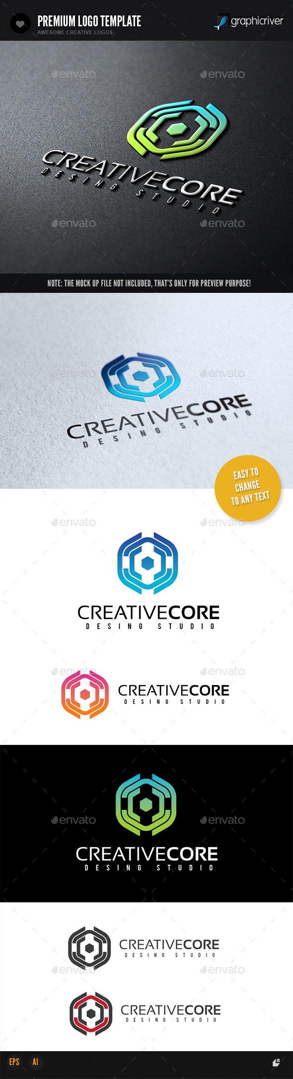 Creative Core - Abstract Logo Templates