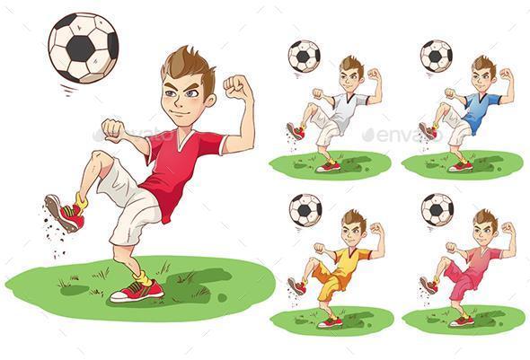 Soccer Boy - Sports/Activity Conceptual
