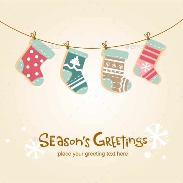 Christmas Stockings - Christmas Seasons/Holidays