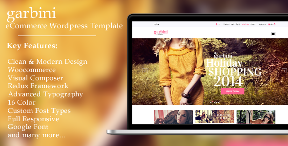 Garbini - Multipurpose Ecommerce Theme - Fashion Retail
