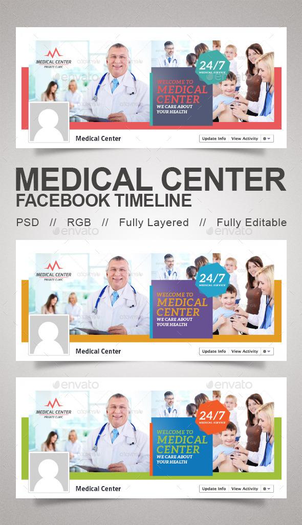 Medical Center Timeline - Facebook Timeline Covers Social Media
