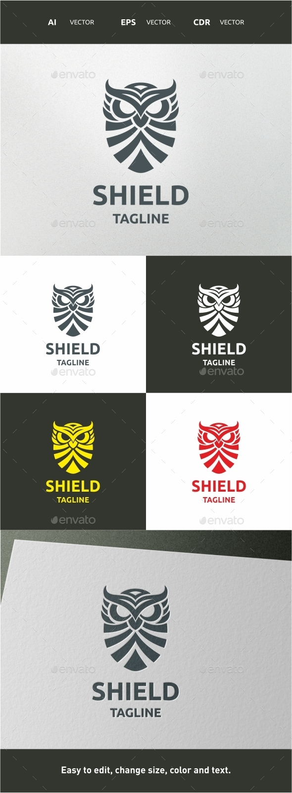 Shield - Symbols Logo Templates