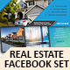 Real Estate Facebook Covers Set - GraphicRiver Item for Sale
