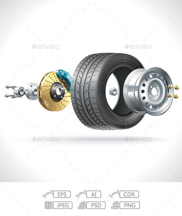 Wheel Parts - Services Commercial / Shopping