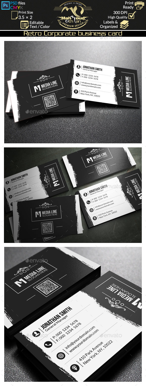 Retro Business Card 66 - Retro/Vintage Business Cards