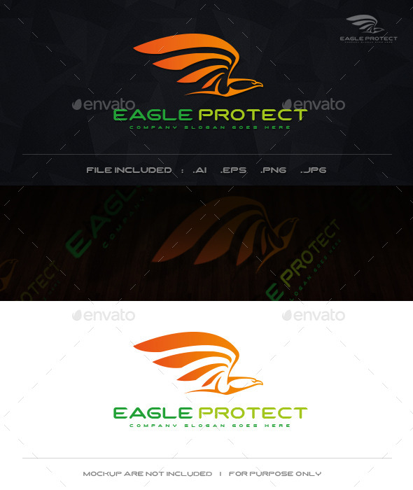 Eagle Protect - Symbols Logo Templates