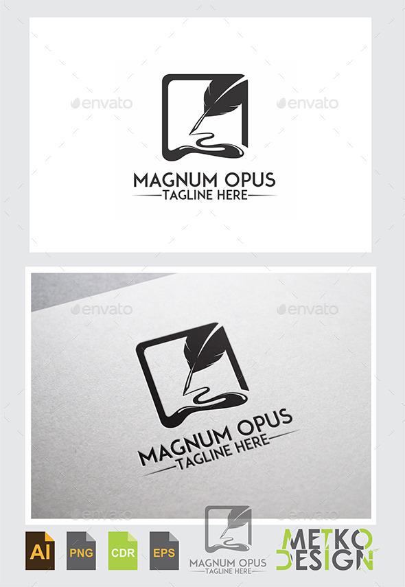 Magnum Opus Logo - Logo Templates