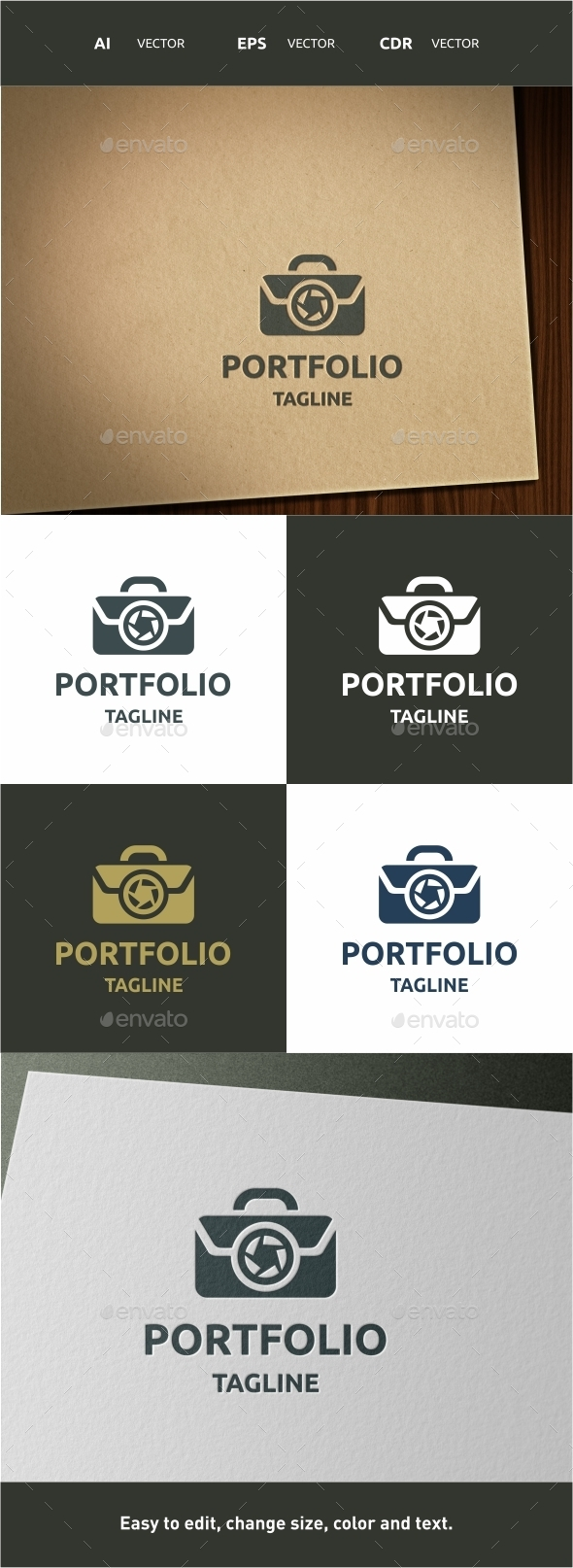 Portfolio - Symbols Logo Templates
