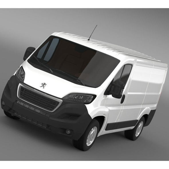 Peugeot Boxer Van  L1H1 2014 - 3DOcean Item for Sale