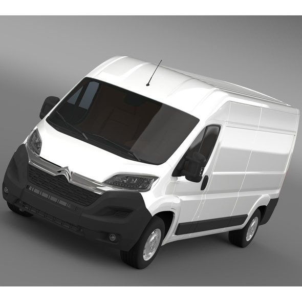 Citroen Relay Van L3H2 2015 - 3DOcean Item for Sale