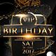 VIP Birthday - GraphicRiver Item for Sale