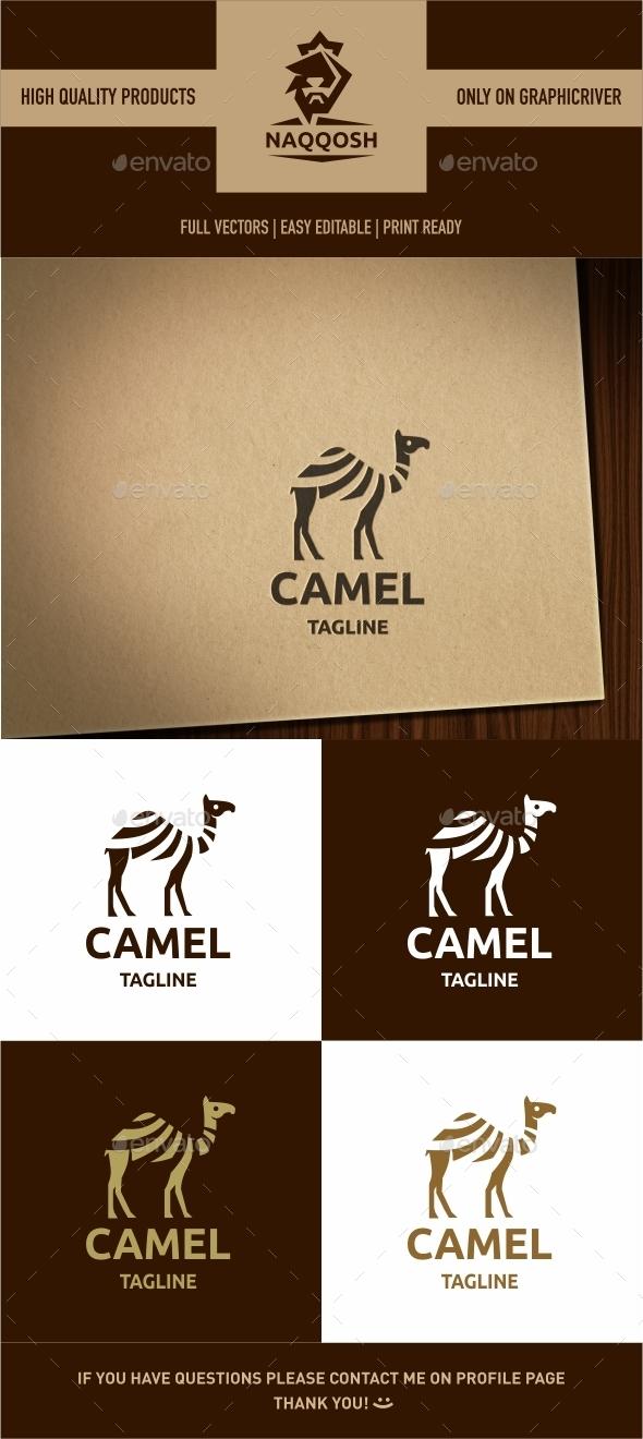 Camel - Symbols Logo Templates