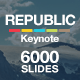 Republic - Multipurpose Keynote Template - GraphicRiver Item for Sale