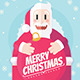 Santa Claus Christmas Card - GraphicRiver Item for Sale