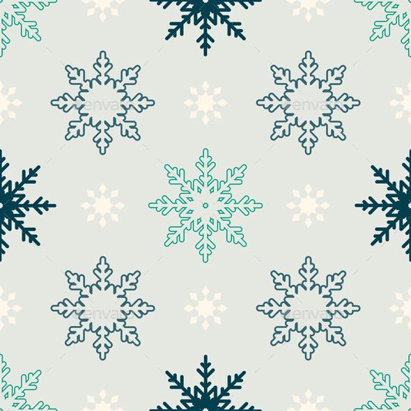 Snowflake Pattern - Christmas Seasons/Holidays