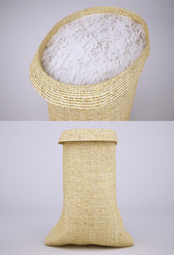 Flour Sack (VrayC4D) - 3DOcean Item for Sale