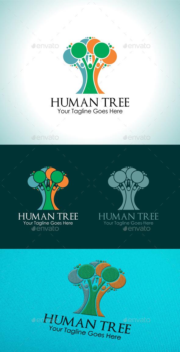 Human Tree Logo - Logo Templates
