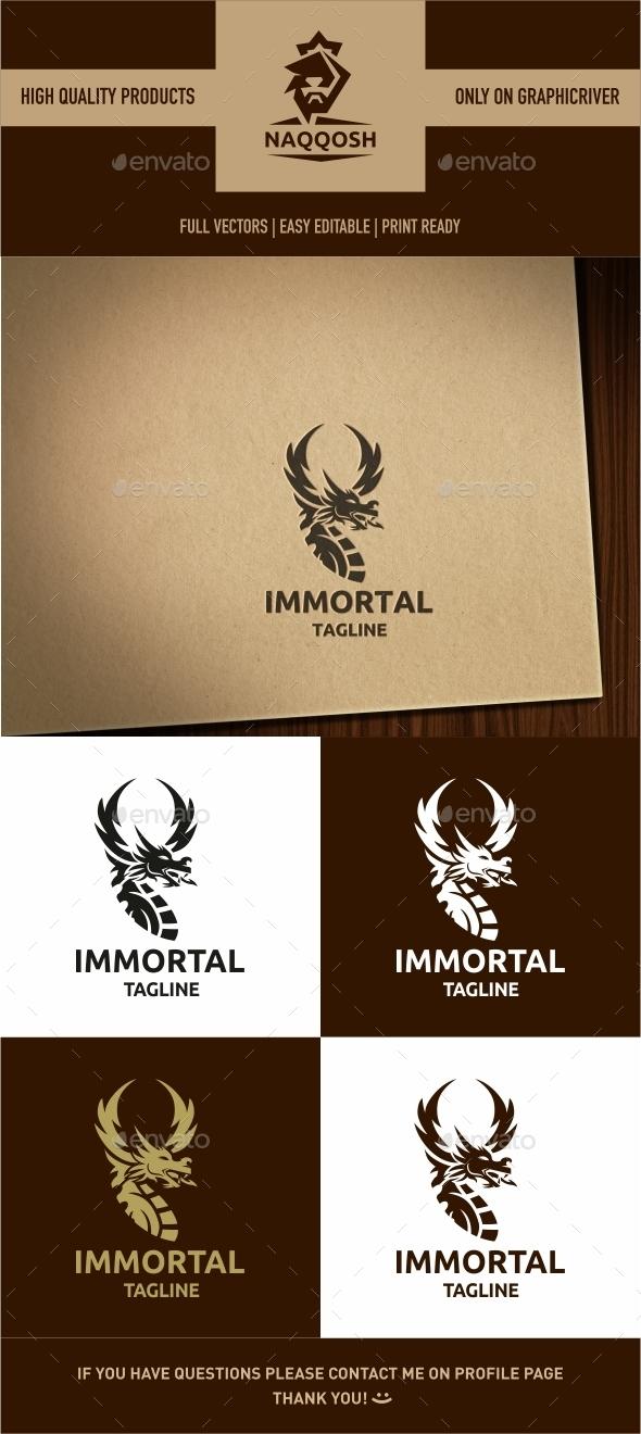 Immortal Logo - Symbols Logo Templates