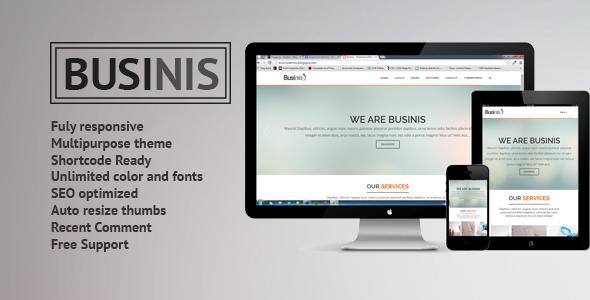 Businis - Responsive Blogger Templates - Blogger Blogging