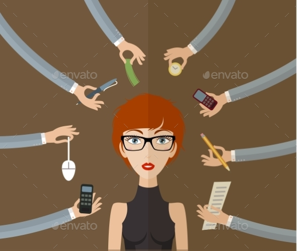 Business Woman  - People Characters