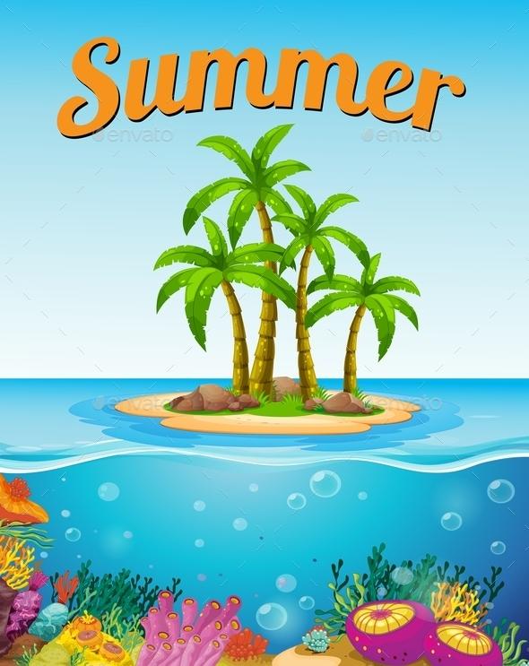 Summer Template - Seasons Nature