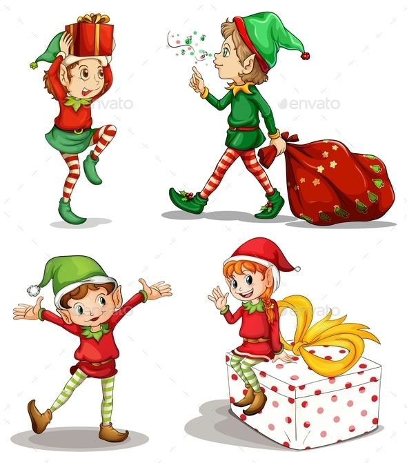 Four Dwarves - Christmas Seasons/Holidays
