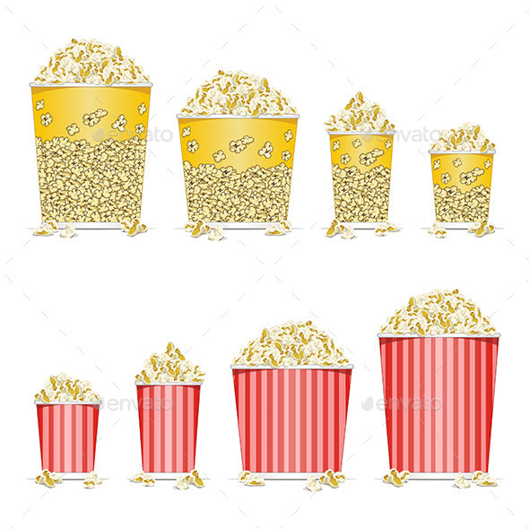 Popcorn - Food Objects