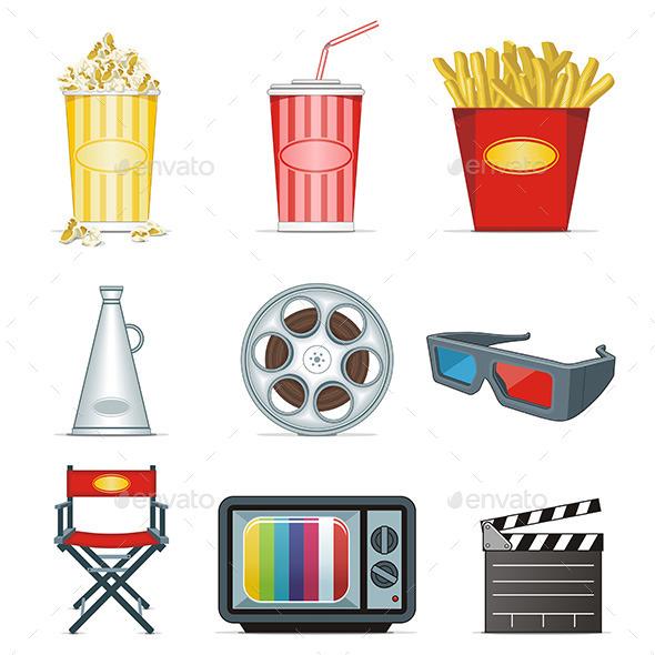 Movie Icons - Media Technology