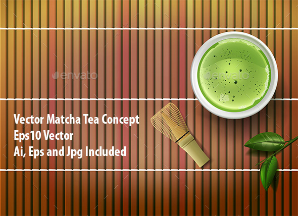Matcha Tea - Miscellaneous Vectors