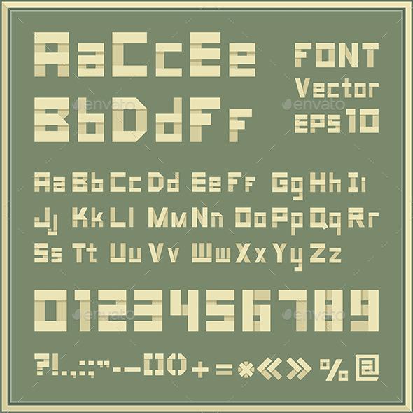 Font Set - Vectors