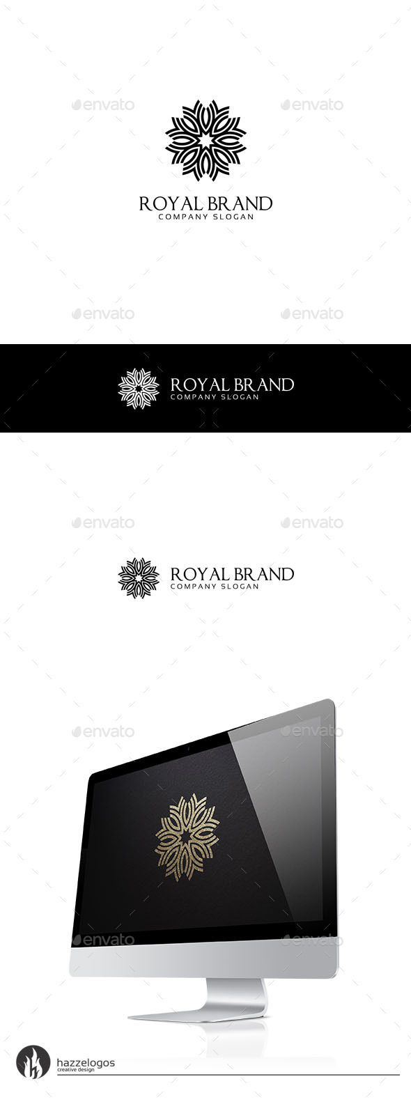 Royal Brand Logo - Crests Logo Templates