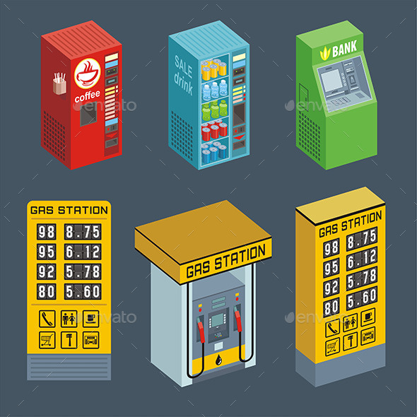 Vending Machine - Vectors