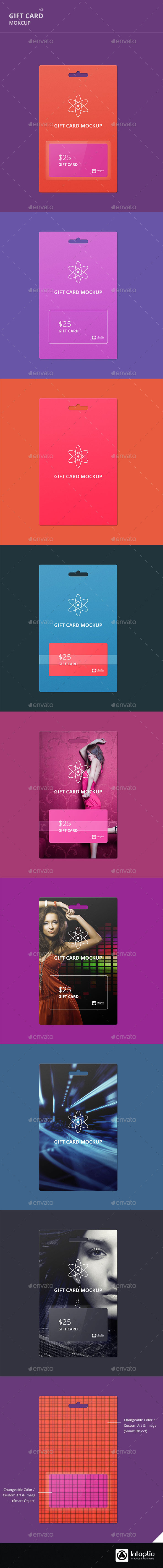 Gift Card Mockup v3 - Miscellaneous Print